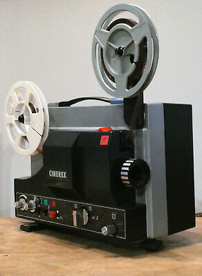 SUPERB Cinerex SU510 Super 8mm SOUND Cine Projector Boxed GUARANTEED