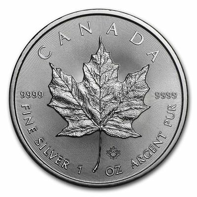 Canada - $5 Dollars 2018 - Maple Leaf 1 once argent silver .999 1 oz