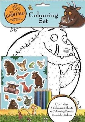 The Gruffalo Childrens Colouring Set Artist Pads 8 Pictures Kids Pencils 3080
