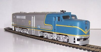 HO Scale Athearn NON-POWERED DUMMY Delaware & Hudson D&H Diesel Engine Lot S18-7
