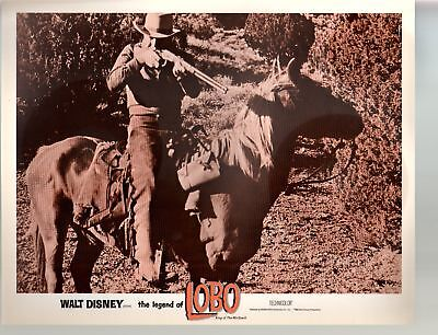 Legend Of Lobo...King Of The Wolfpack-Rex Allen-11x14-Color-Lobby Card