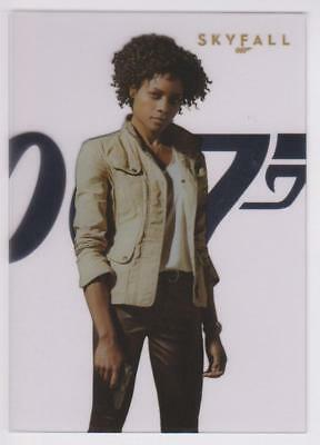James Bond 007 50. Jubiläum SF4 Naomie Harris als Eve in Skyfall Plakat Karte
