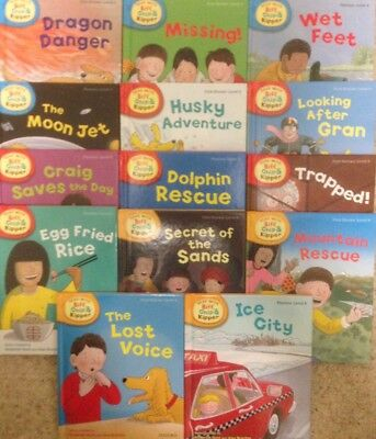 *NEW* 14 Book Set Read with Biff Chip and Kipper (Levels 4-6) Early Readers #g