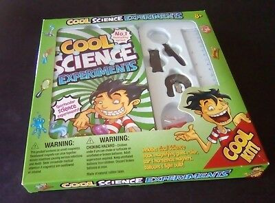 COOL SCIENCE EXPERIMENTS Age 8+ (see description)