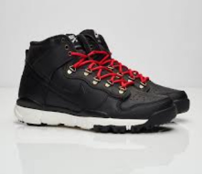 size 40 2bd3d fa1e1 NEW NIKE SB Dunk High Boot Black 806335- 012 Mens Shoes Red White high