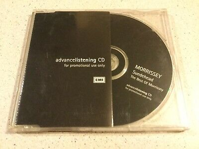 Morrissey (The Smiths)  -  Suedehead The Best Of  -  Promo 19 Track Cd From 1997