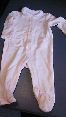 Nwt Gorgeous Ralph Lauren Girls L/S One Piece Romper Outfit 3M Months