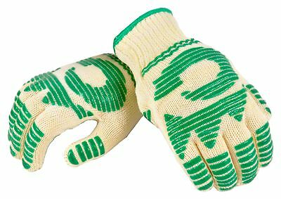g & F Best of Heat Resistant oven Gloves Withstand Extreme Heat, Flexibale  Jii6