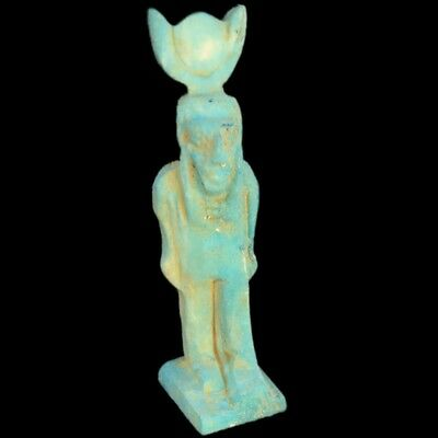 Beautiful Ancient Egyptian Amulet 300 Bc (11)