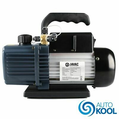 Javac 5 Cfm 2 Two Stage Air Conditioning A/C Refrigeration Vacuum Vac Pump CC141