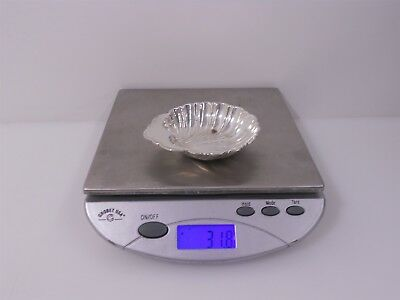 Gorham Sterling Silver Scallop Butter Dish 31.8g