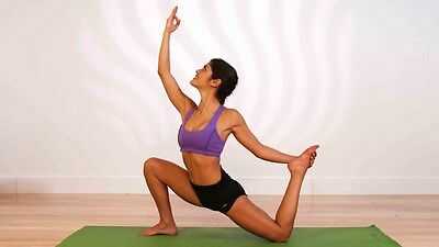 The Ultimate Ballet Yoga workout strengthening fitness toning exercises on DVD