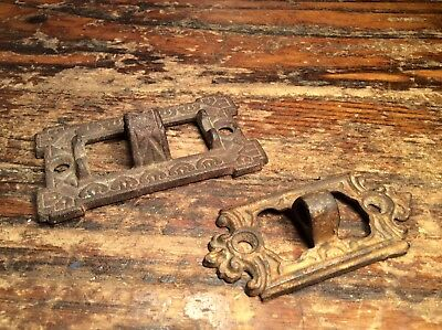 Antique Cast Iron Oil Lamp Sconce Parts Wall Brackets. Lot