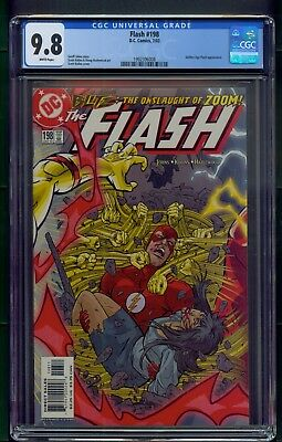 Flash #198 (2003) CGC Graded 9.8 ~ Golden Age Flash Appearance ~ Geoff Johns