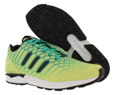 more photos 79a3c 47607 NEW ADIDAS ZX Flux XENO Running Reflective Frost Yellow Snake CNY AQ8212