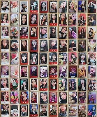 LOT of 90 TWICE Authentic Official PHOTOCARD YES or YES FULL Set 6th Album 트와이스