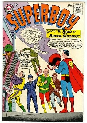 Superboy #114 (1963) F/VF New DC Silver Age Collection