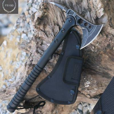 FBIQQ Tactical Axe Tomahawk Army Outdoor Hunting Camping Survival Machete Axe...