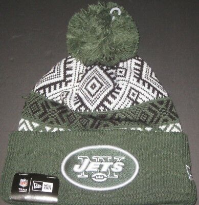 outlet store 00ce1 e22f7 New Era New York JETS Beanie New With Tags Winter Hat NFL Fan Apparel
