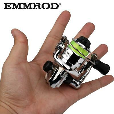 EMMROD HOT Mini100 Pocket Spinning Fishing Reel Alloy Fishing Tackle Small Sp...