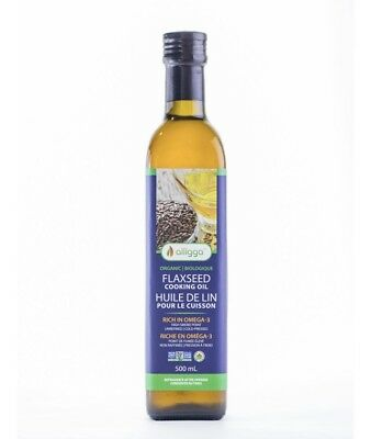 Alligga Flaxseed Oil 500ml x 12