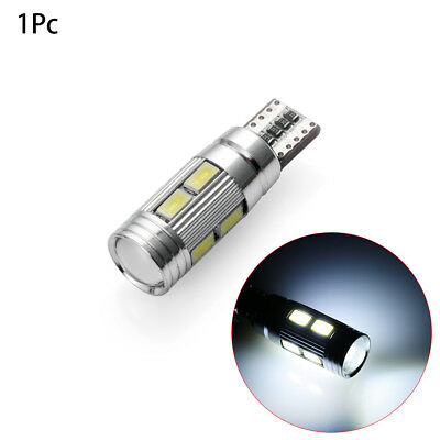 T10 White 5630 LED 194 W5W 10 SMD Canbus Error Free Car Side Wedge Light Bulb