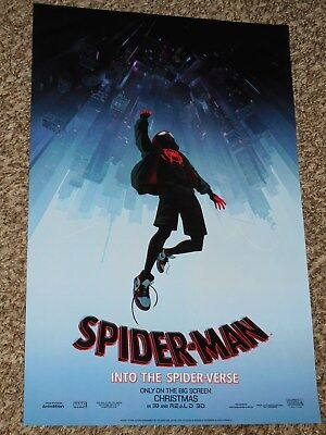 Spider-Man Into the Spider-Verse 11x17 Promo Movie POSTER