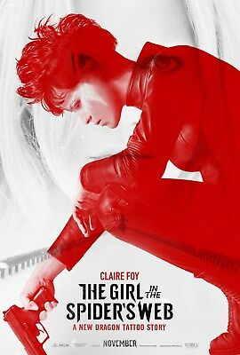 The Girl in the Spider's Web 11.5x17 Promo Movie POSTER Claire Foy