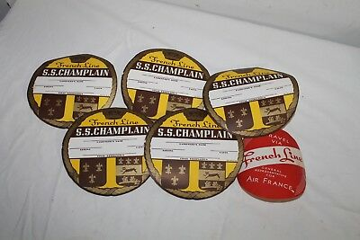 Lot Of  Antique/vintage  Travel Luggage/baggage Tags