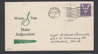 Usa 1944/5 4X Wwii Patriotic Covers Ammunition Victory Pearl Harbour & America