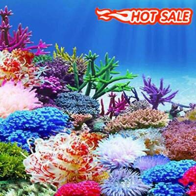 Aquarium Ocean Background  Landscape Poster Fish Tank Background Painting Decor