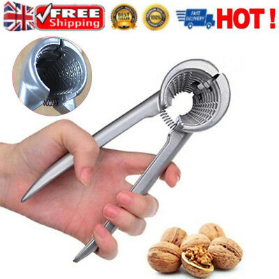 Funnel-Shaped Alloy Nut Sheller Walnut Nut Crackers Pliers Opener Quick  Sheller