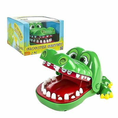 2Pcs Big Crocodile Mouth Dentist Bite Finger Toy Family Game For Kids Xmas N-G