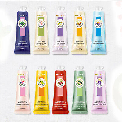 30g Fruit Flower Scented VE Nourish Hand Cream Hand Lotion Winter Care 10 Scent