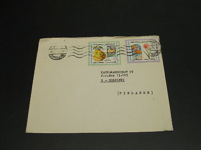Tunisia 1972 cover to Finland *2861
