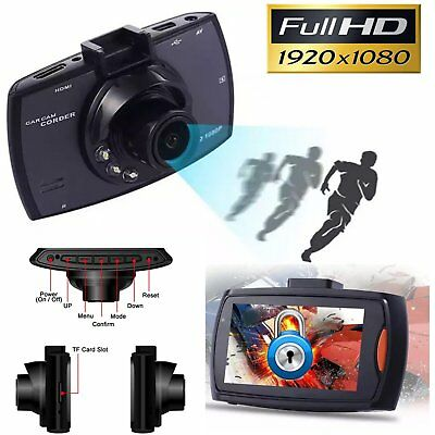 "1080P 2.7"" LCD Car DVR Dash Camera Cam G-sensor IR Night Vision Pro New XP"