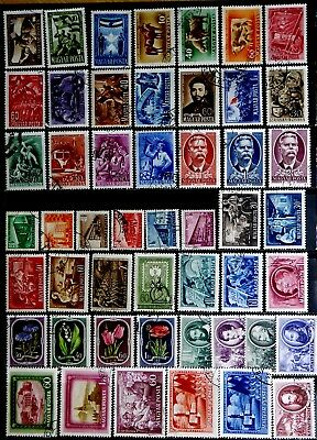 Hungary: 1950's Stamp Collection With Sets