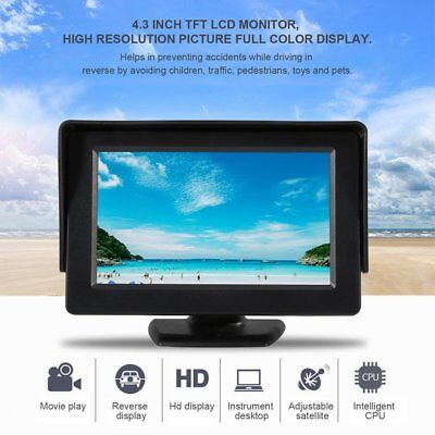 4.3 Inch TFT LCD Monitor Car Rearview Display for Car VCD/DVD/GPS/Camera