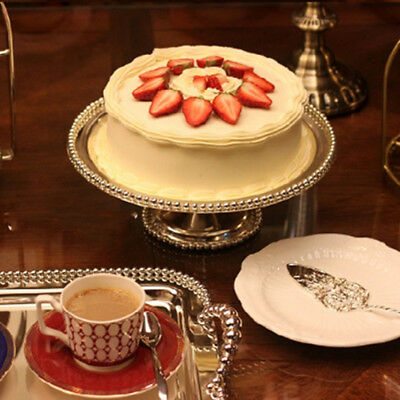 Silver Hollow Stainless Steel Cake Server Silvering Wedding Anniversary Tool LG