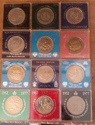 GB 5 shillings Crown 25 Pence 1951 to 1981. You choose. In Bank Capsule