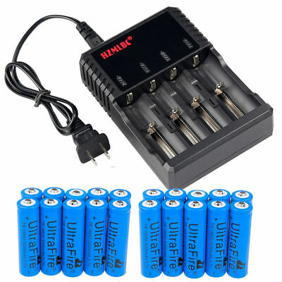 Lot Ultrafire 3000mAh 18650 Battery 3.7V Li-ion Rechargeable Batteries for Torch