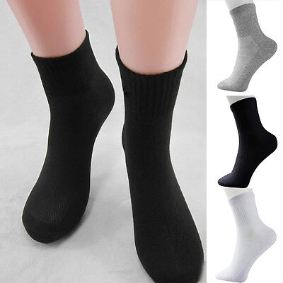 5 Pairs Men's Socks Winter Casual Soft Cotton Blend Sports Sock Breathable sock