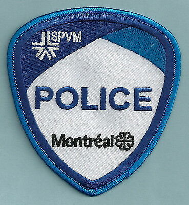 Montreal Quebec Canada Spvm Police Patch