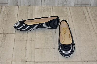 ceadf7f9292ae5   Circus by Sam Edelman Charlotte Stripe Flats - Women s Size 5.5 M - Navy