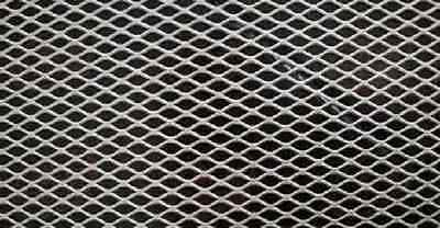 """Alloy 304 Expanded Stainless Steel Sheet - 1/2"""" #13 Flat, 12"""" x 12"""""""