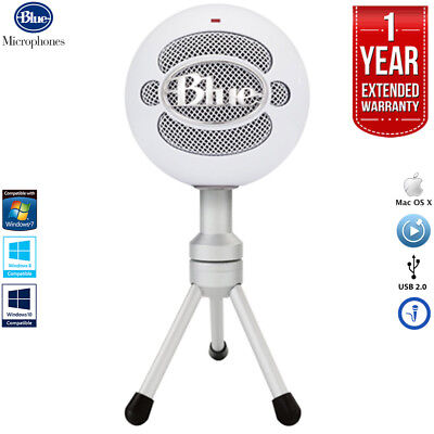 Blue Microphones Snowball iCE Versatile USB Microphone +1 Year Extended Warranty