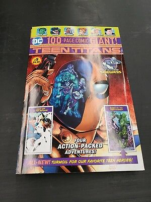 DC Comics Teen Titans 5!  100 Page Giant Walmart Exclusive High Grade! SOLD OUT!