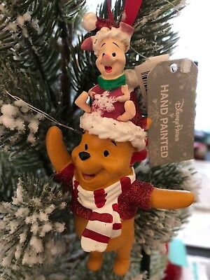 Disney Winnie the Pooh And Piglet Christmas Ornament