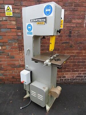 Startrite 14-S-1 3 Phase Bandsaw DC Braked In Great Condition L@@K