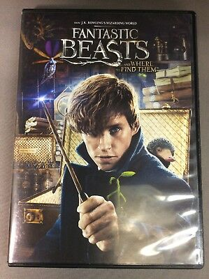 Fantastic Beasts And Where To Find Them(DVD) VG-18114-395